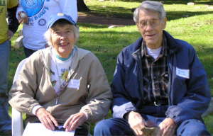 Margaret Bacon, who began the non-profit, and her husband Allen, an early board member