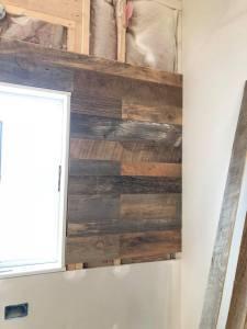 Gatlinburg TN barnwood accent wall
