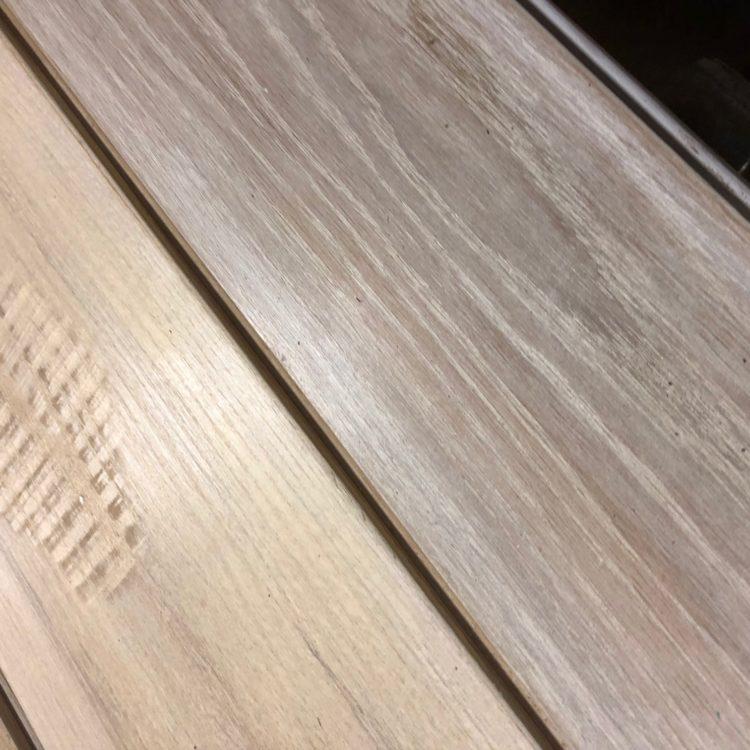 175 s.f Oak & Ash Mix T&G Flooring Bona white