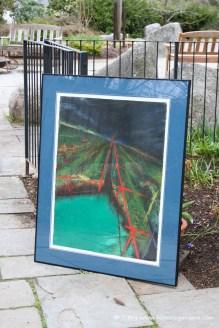 "Original Artwork ""The Channel Towards Lands End"" (1993) by Wayne Boucher."