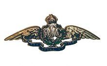 Royal Flying Corps cap badge