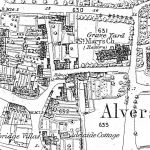 Alverstoke1867 with the Holmes Alms house indicated