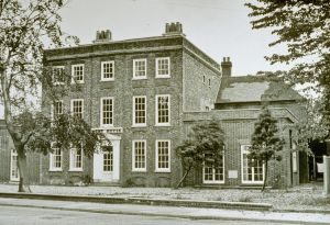 Bury House, home of Captain Cunningham