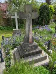 The grave of Admiral Gambier in St Mark's graveyard at Alverstoke