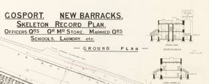 New Barracks Gosport Plans