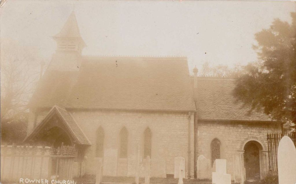 Rowner Church Postcard