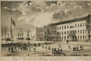 Burney's Naval Academy in Clarence Square