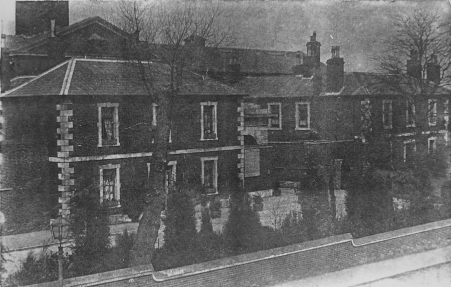 Warders' Quarters in Lees Lane 1903