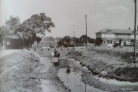 Gosport library and the old moat