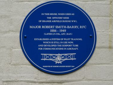 Blue Plaque to Smith-Barrie on Alverbank