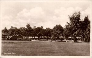 A Postcard of the Mk IV Memorial Tank in Gosport Park