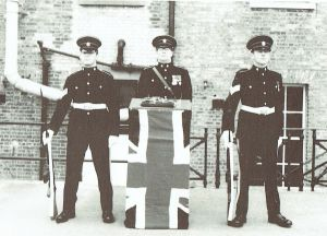 St George Barracks. Freedom of the Borough in 1977 with the keys to Fortress Portsmouth