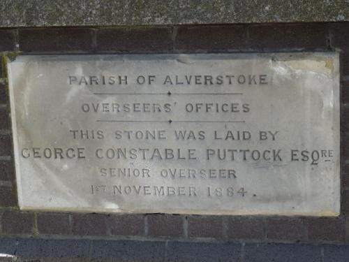 Alverstoke Foundation  Stones