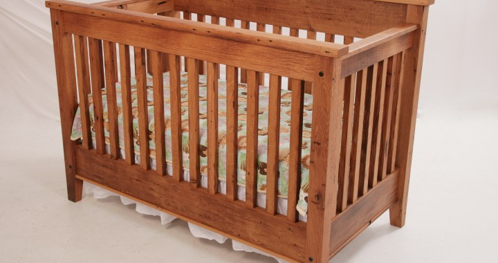 Reclaimed White Oak Crib