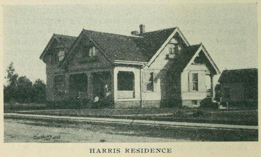 The Harris House, Glendale, CA in 1904
