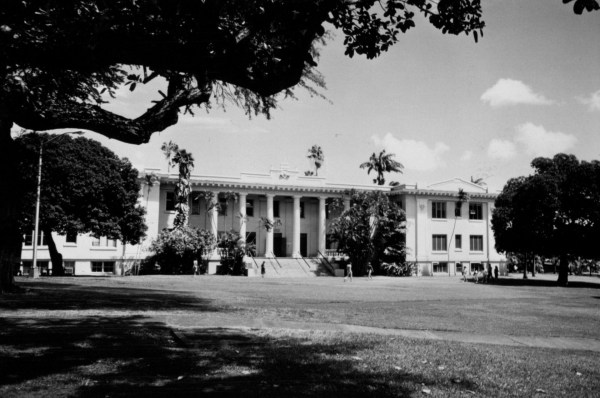 University Of Hawaii Thematic District Historic
