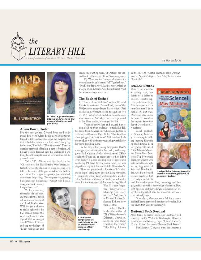 Hill Rag's review of Children's Letters to a Holocaust Survivor: Dear Esther