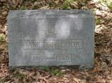 """Glenwood Cemetery, """"Hamp"""" Cook"""