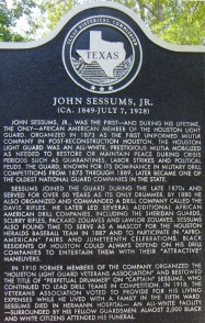 College Park, John Sessums Jr.