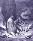 Dante & Virgil in Inferno