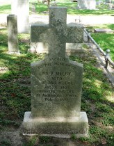 Glendale Cemetery -- William P. Milby