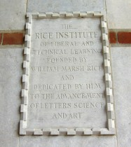 Historic Plaque at Lovett Hall
