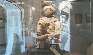 Robert at museum
