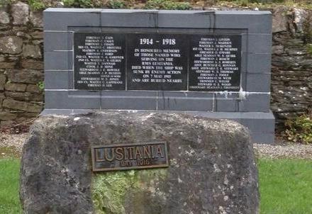 memorial and wall