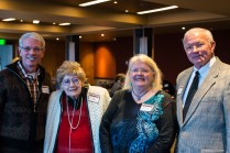 Attendees enjoying the 2013 Hall of Fame event, held at Mt. Vernon Country Club October 17th. Photo by Matthew Lewis.