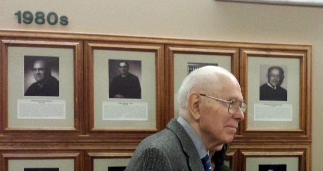 Daniel Shannon, 1st Chief Judge of the 1st Judicial District.