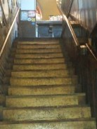 The stairs are said to be in better shape than ever.