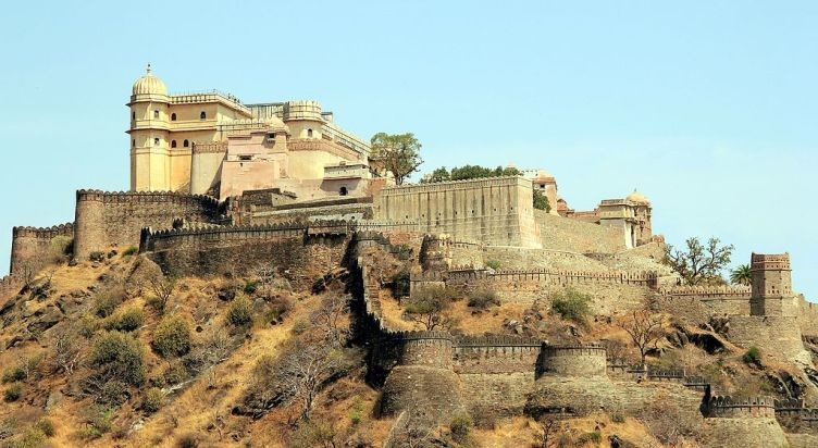 Maharana Pratap's second Capital- kumbhalgarh Fort