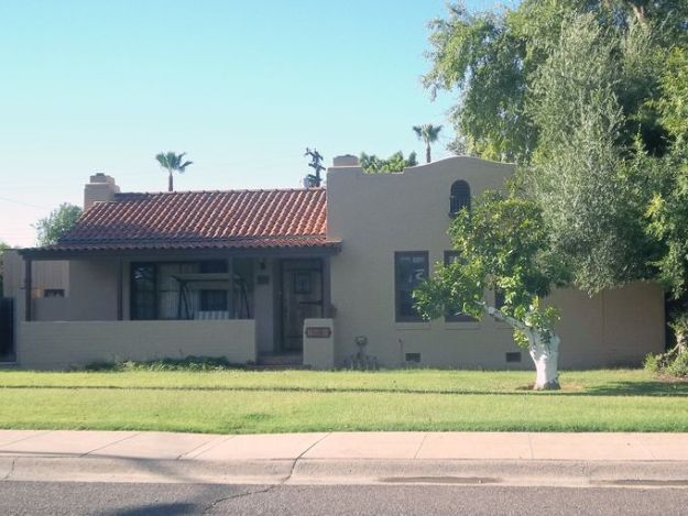 Spanish Colonial Revival In Margarita Place Historic District Phoenix