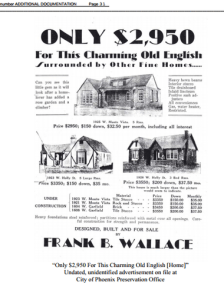 Villa Verde Historic Newspaper Ad