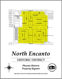 north encanto,map,historic,district,neighborhood,area,phoenix,arizona