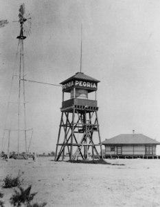 peora, az,photo,historic,water,tower,real,estate