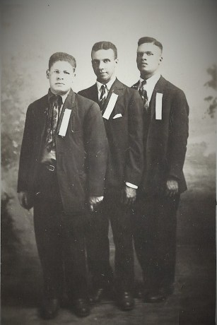 Lewis, Fred, Hubert Dorcas