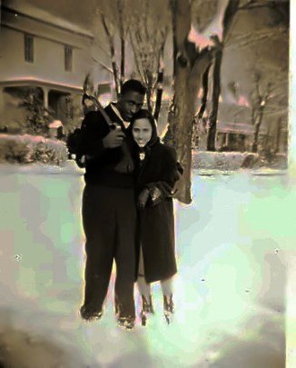 John Johnson and Nona Patterson