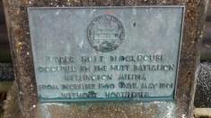 Blockhouse sign