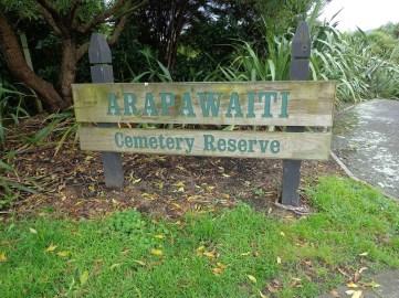 Arapawaiti Cemetery Reserve