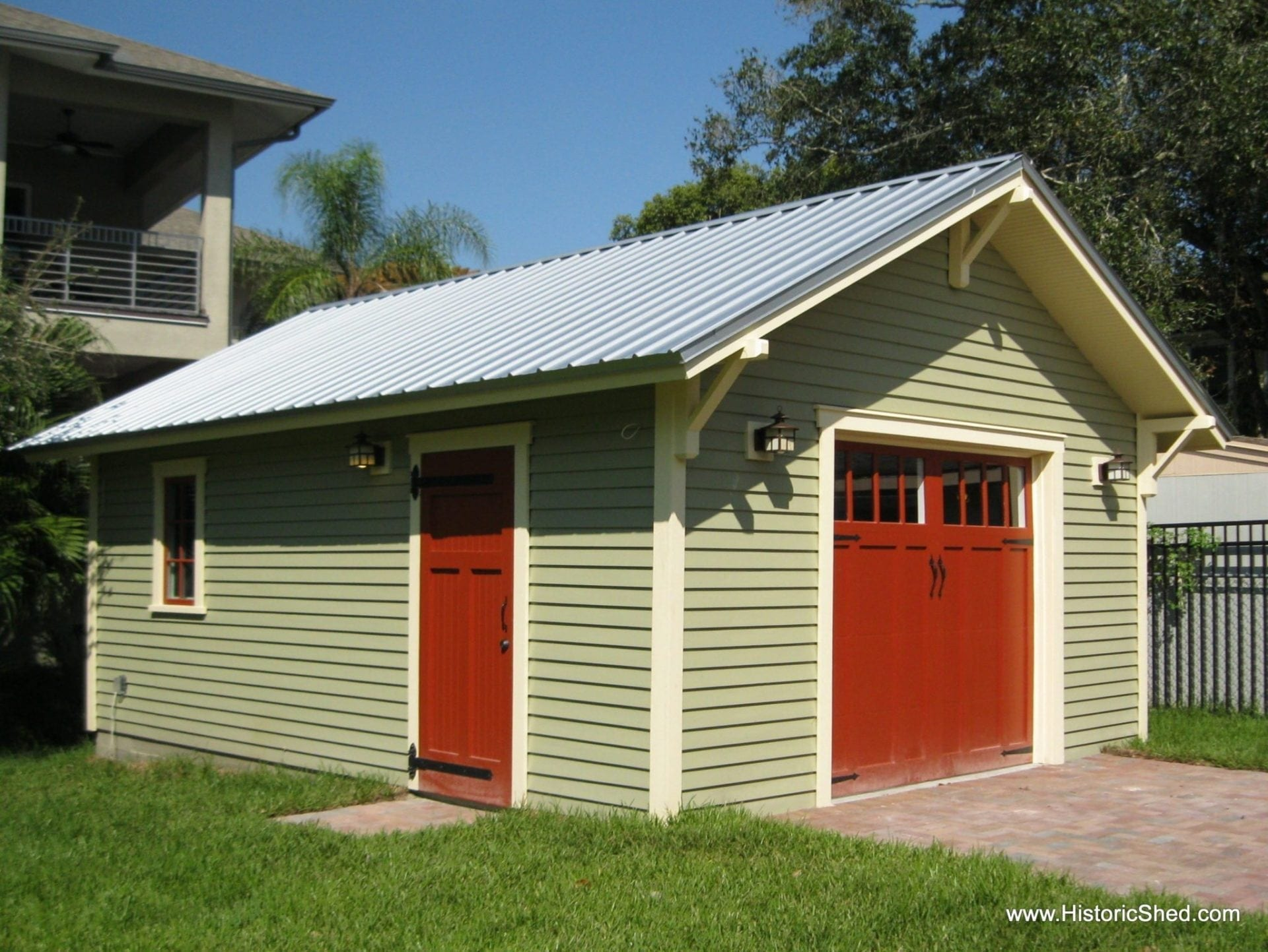A OneCar Bungalow Garage  Historic Shed  Florida