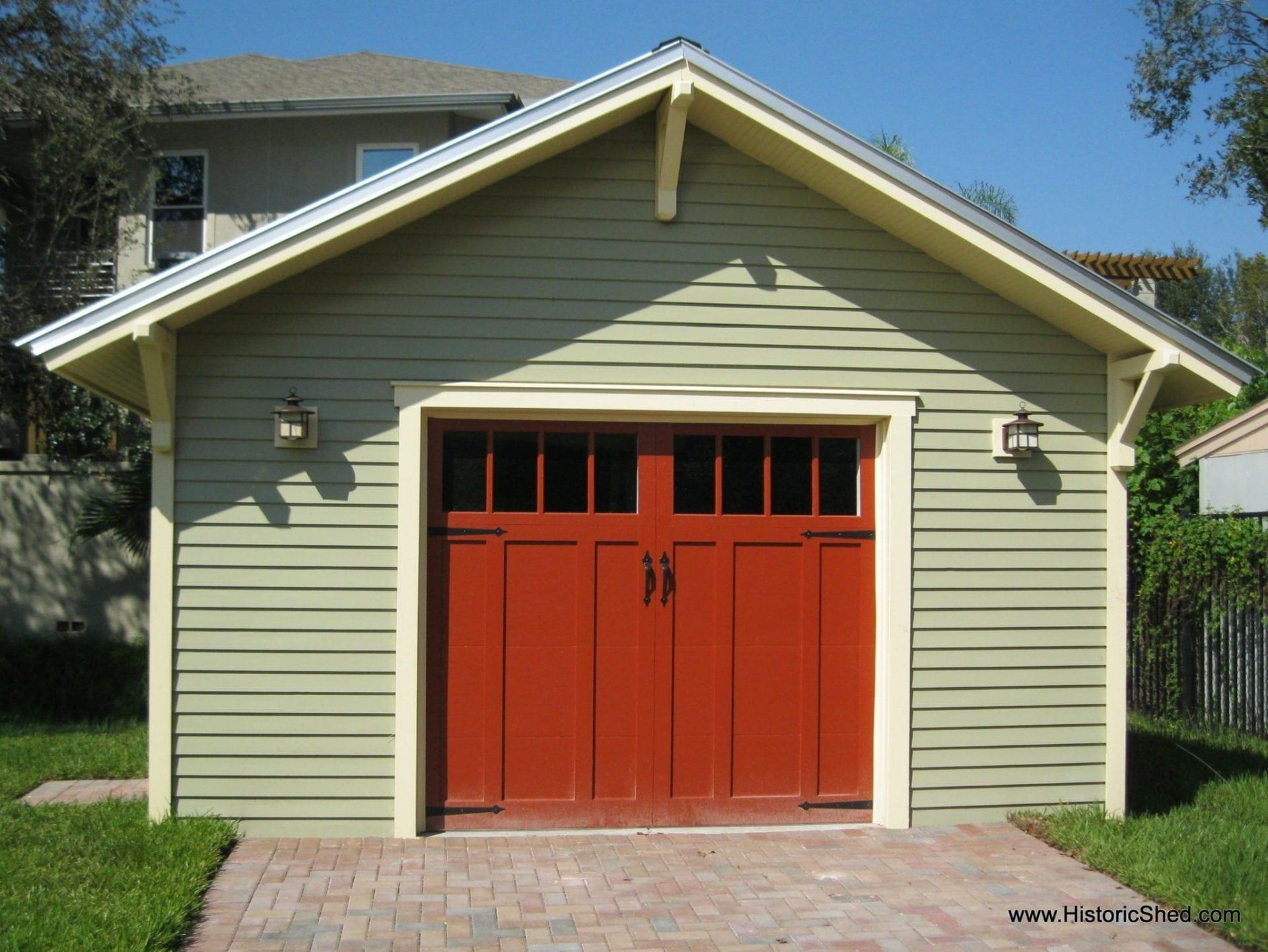 Custom TwoCar Bungalow Garages