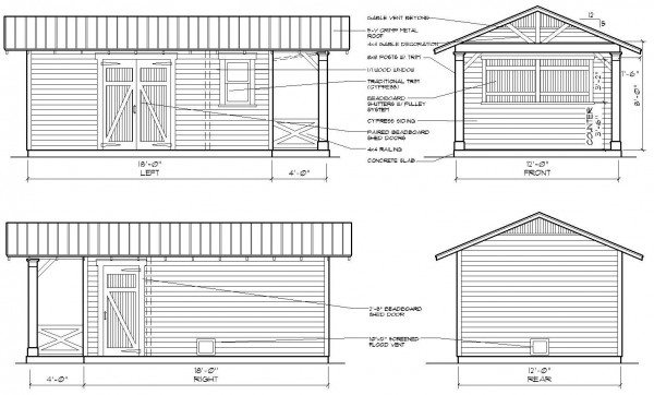 Shed Design by Historic Shed