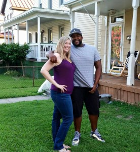 Allyson Flisser and Rojer Frazier, Seaboard neighbors, will tie the knot this afternoon and leave for their honeymoon in Orlando, Florida tomorrow.
