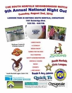 National Night Out Aug 2