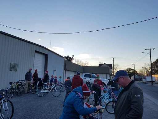 2018 Holiday Bike Parade