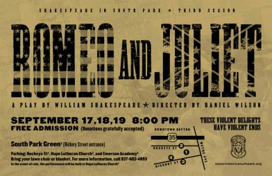 Shakespeare in South Park presents William Shakespeare's ROMEO & JULIET