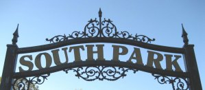 entrance to South Park