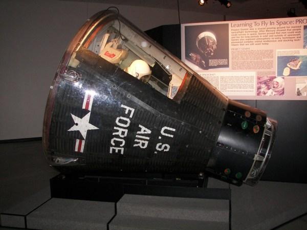 Gemini Program Historic Spacecraft