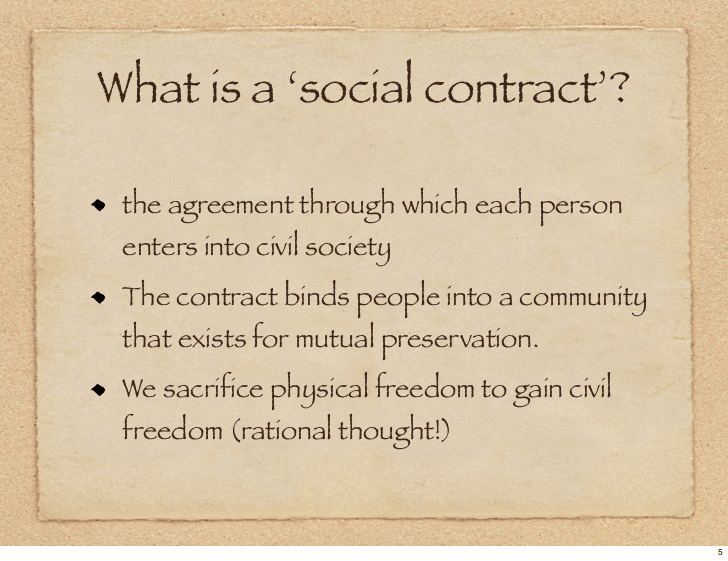 Common Purpose Basis For Social Contract Historic Westside News